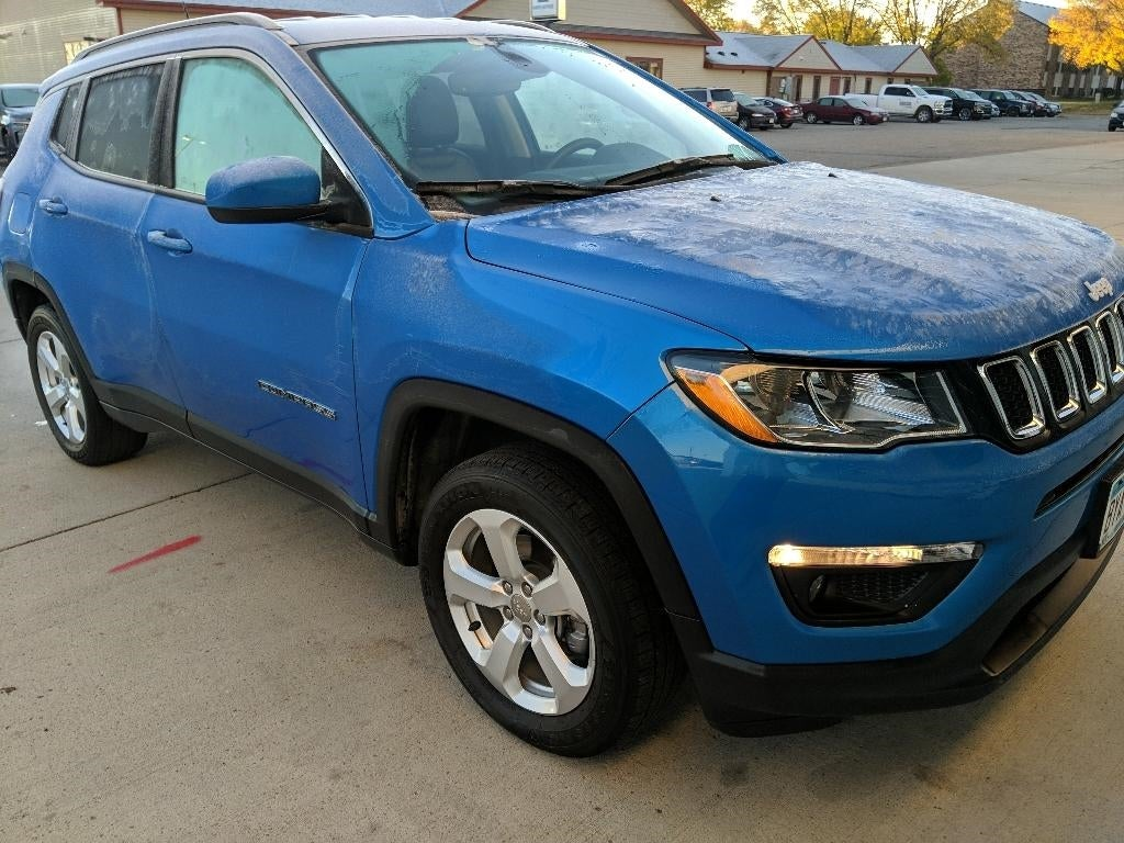 Used 2018 Jeep Compass Latitude with VIN 3C4NJDBB4JT484929 for sale in Marshall, Minnesota
